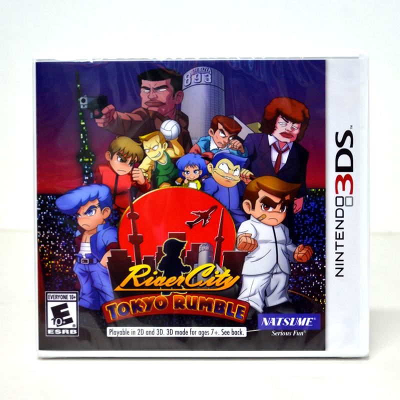 3DS (US) River City: Tokyo Rumble / Kunio English Zone US / English Version (New)