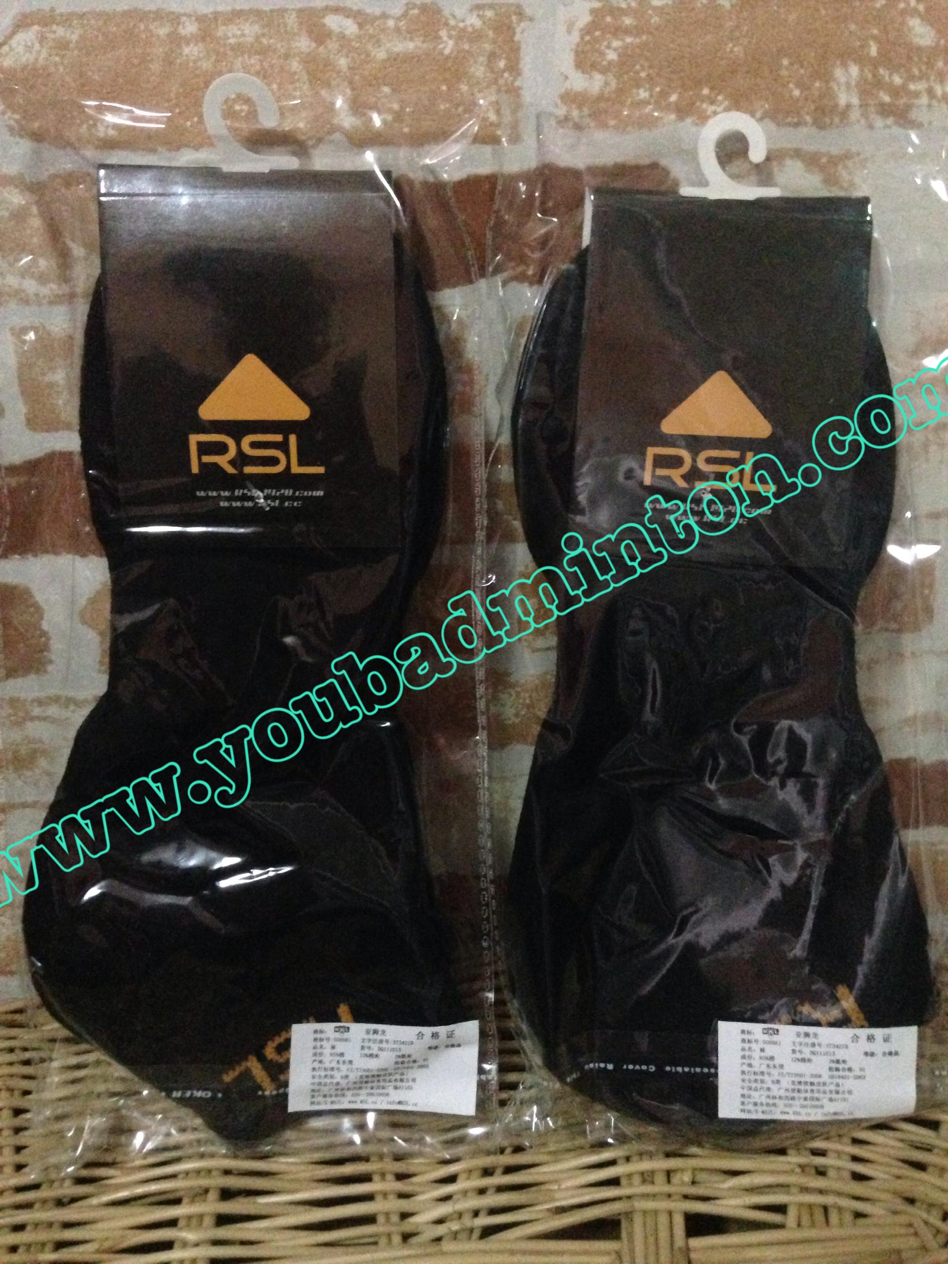 ถุงเท้า RSL สีดำ เนื้อหนาอย่างดีนุ่มใส่กระชับสบายเท้ามากๆๆ