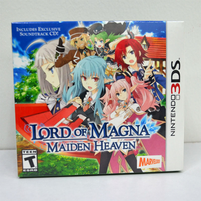 3DS (US) Lord of Magna: Maiden Heaven