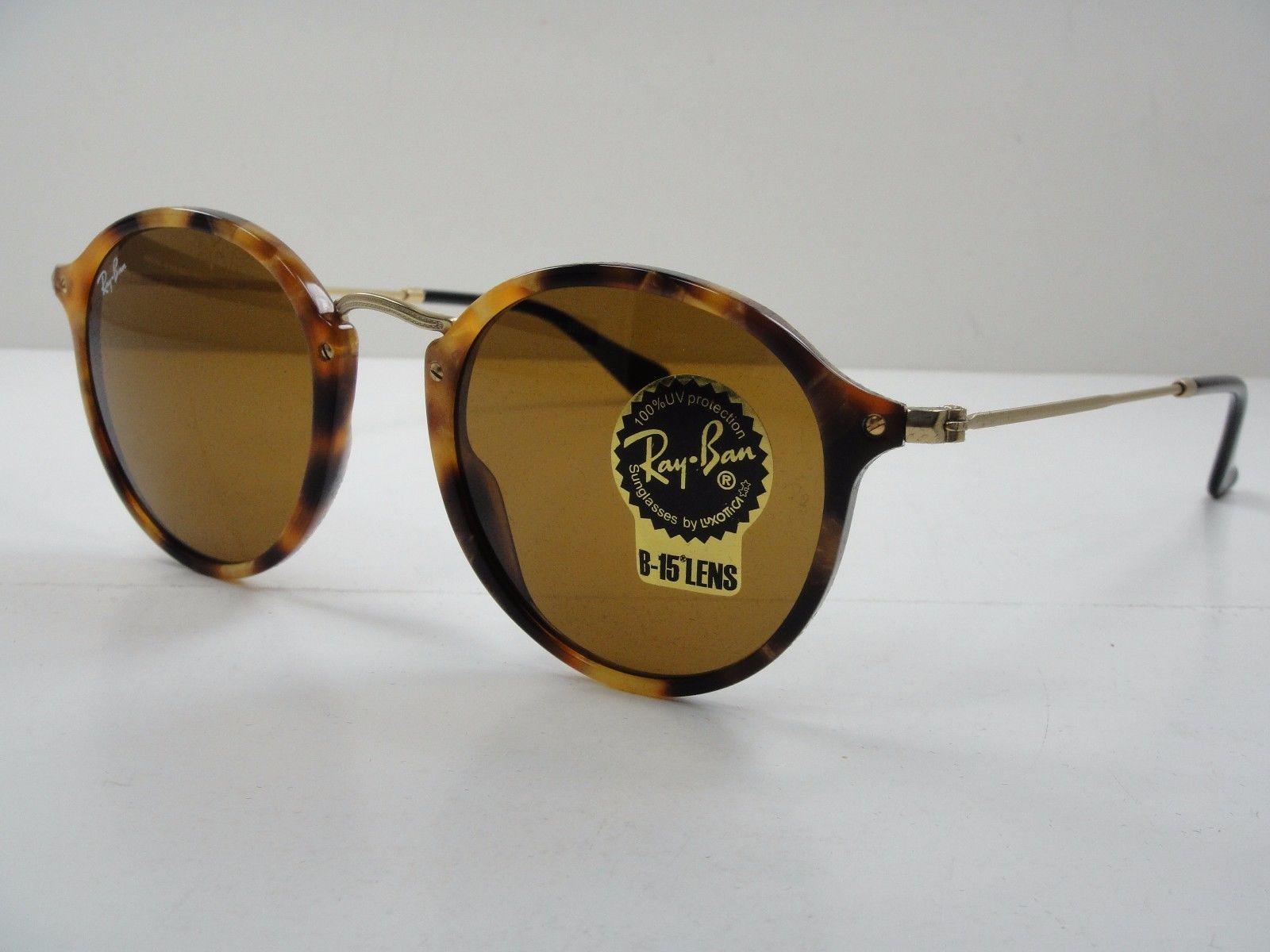 Ray Ban RB2447F 1160 Brown Havana