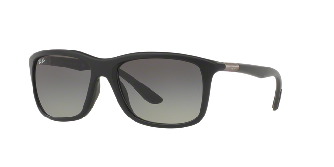 Ray-Ban RB8352F 622011 MATTE BLACK Grey Gradient
