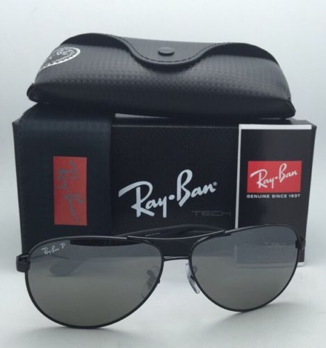 Ray-Ban Aviator RB8313 002/K7 Tech Carbon fiber Black Polarized