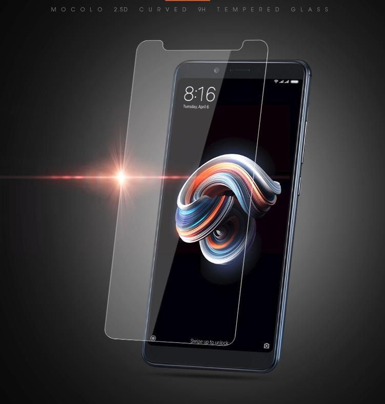 Xiaomi Redmi Note 5 / Redmi Note 5 Pro ฟิล์มกระจกนิรภัย Mocolo 9H+ (ไม่เต็มจอ)