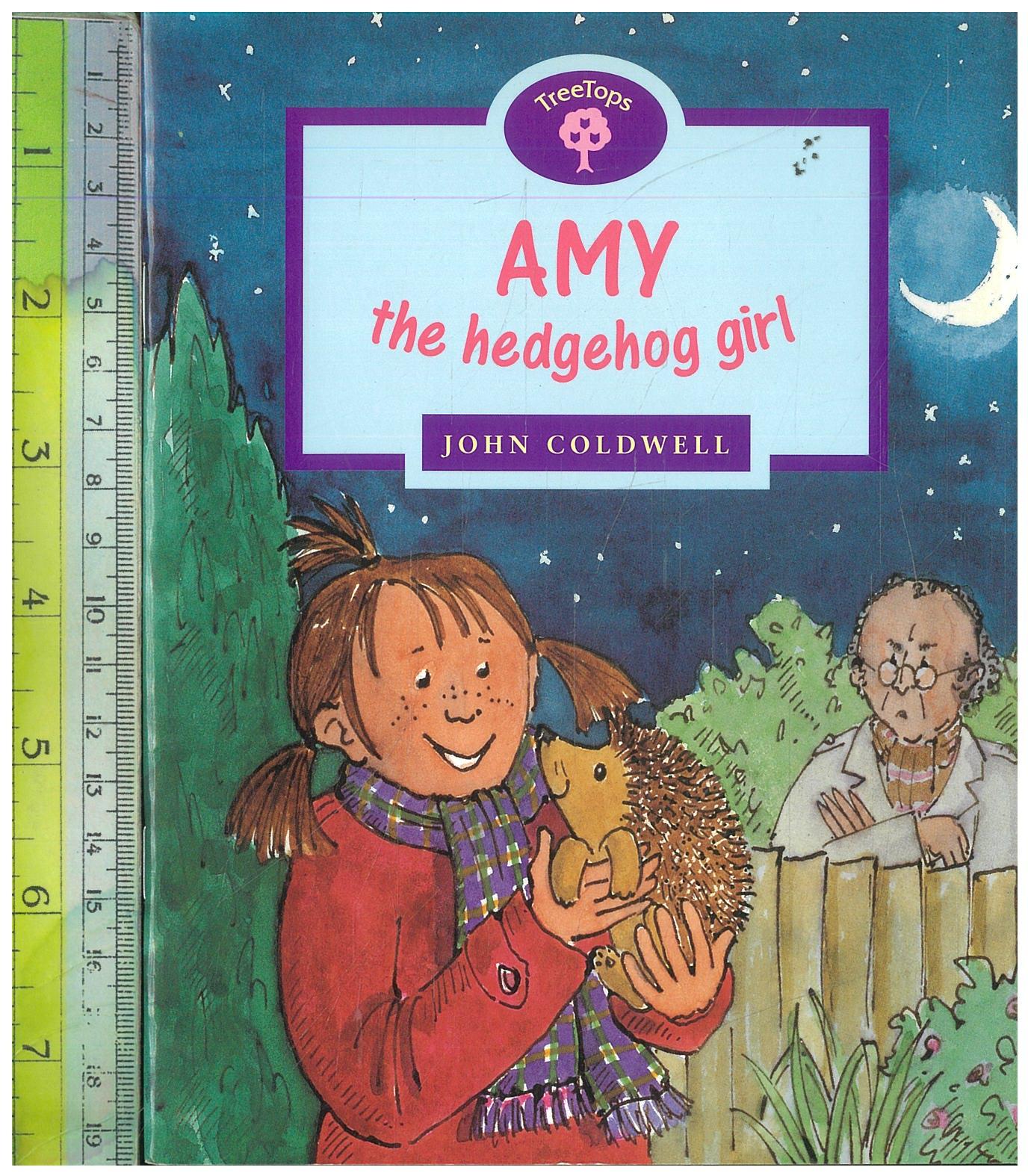 AMY hedgehog girl