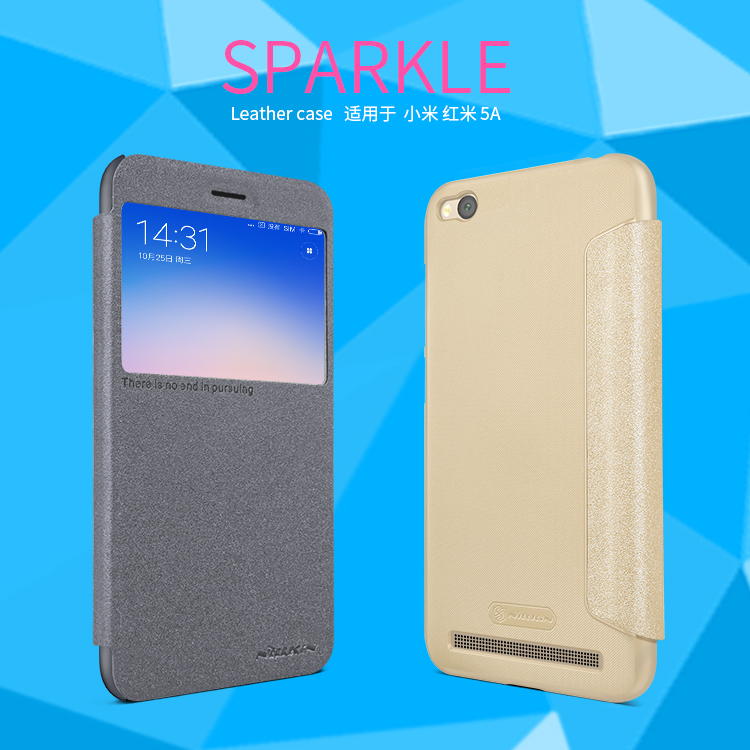 เคส Xiaomi Redmi 5A - Nillkin Sparkle Leather Case