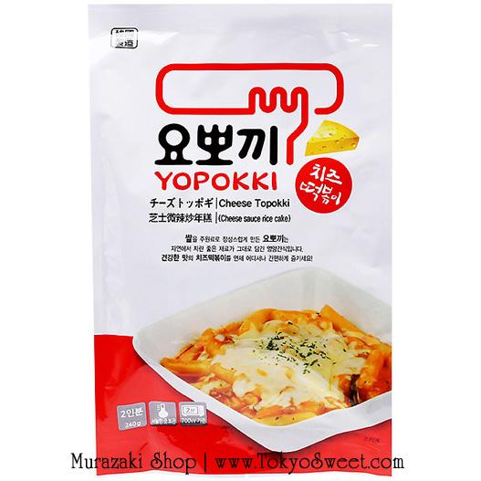 Yopokki Cheese Topokki ต็อกบ็อกกิผสมชีส ขนาด 240 กรัม