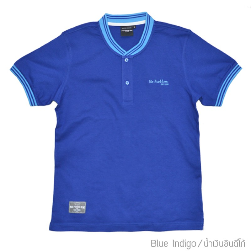 เสื้อยืดคอบัว สำหรับ ผู้ชายอ้วน 2XL 3XL 4XL รหัส NR60026