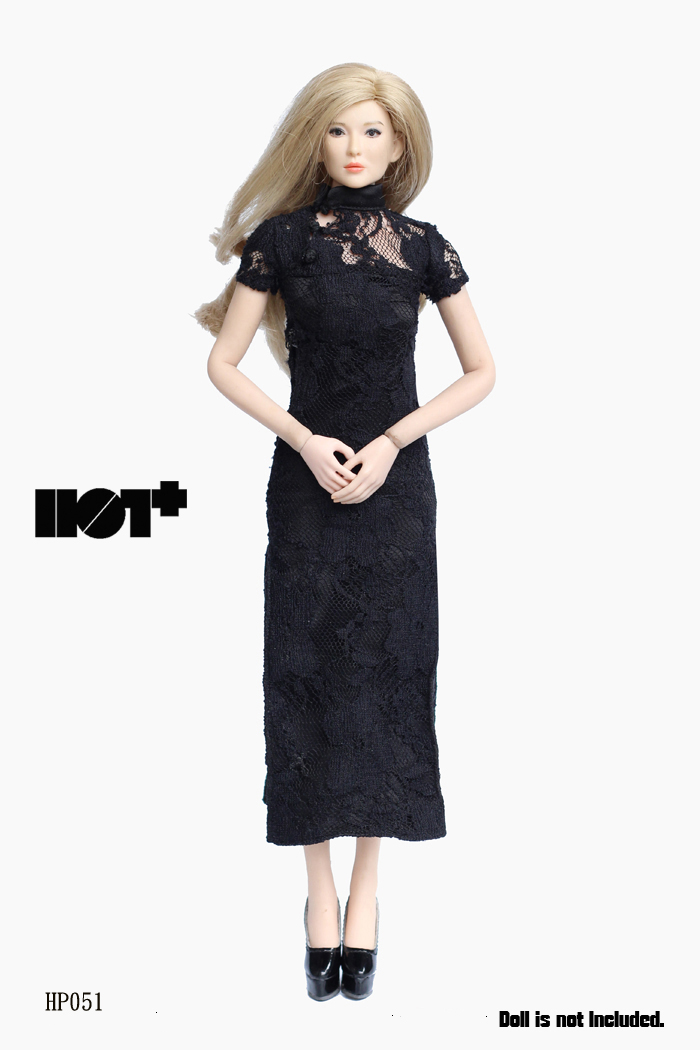HotPlus HP051 Black Lace Chi-pao