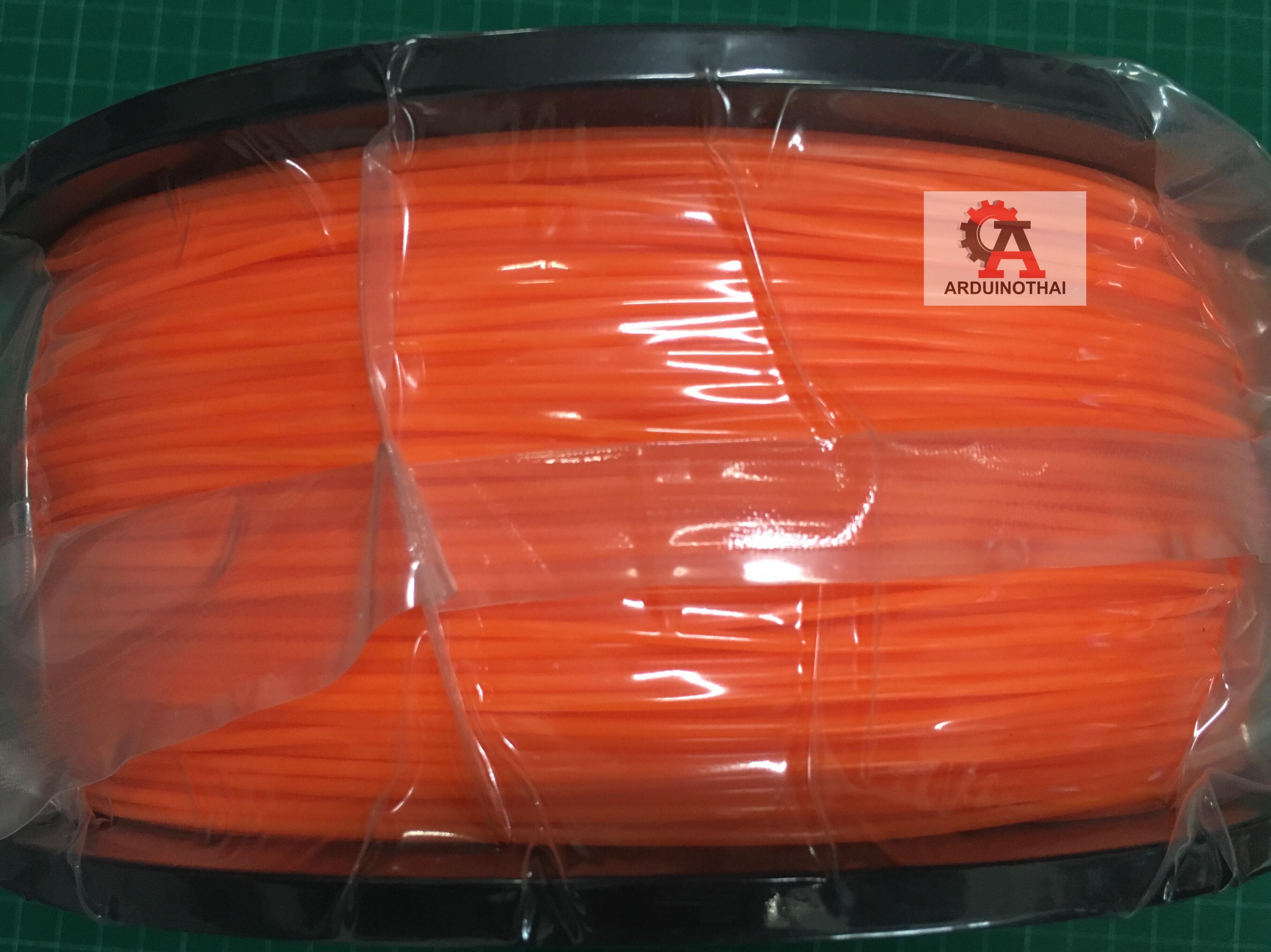 เส้นวัสดุ ABS ม้วนละ 1 กิโลกรัม (ORANGE)