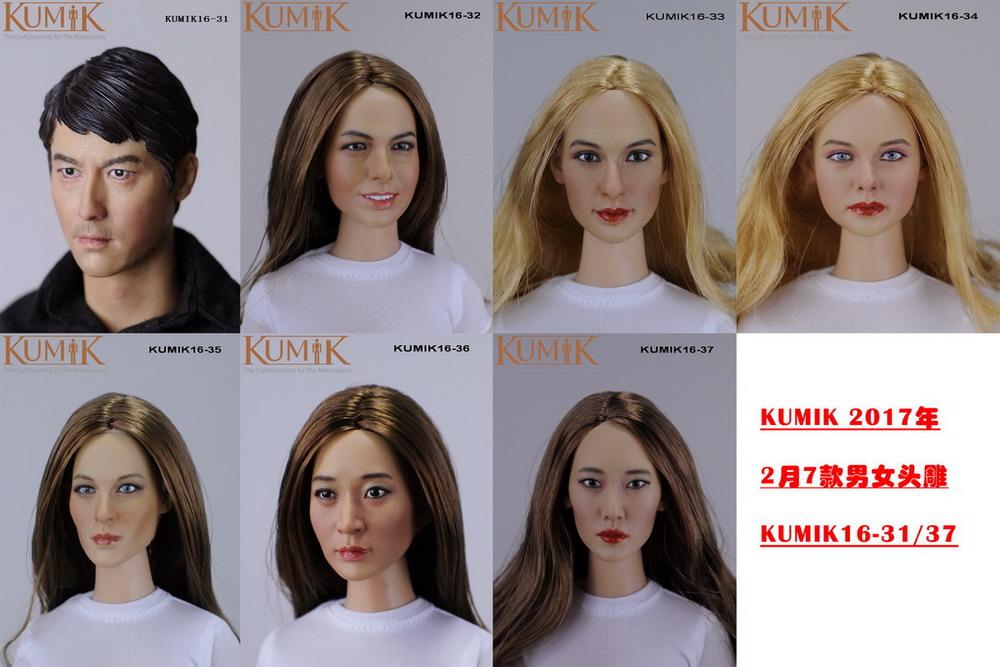 KUMIK 16-31~16-37 New Headsculpt