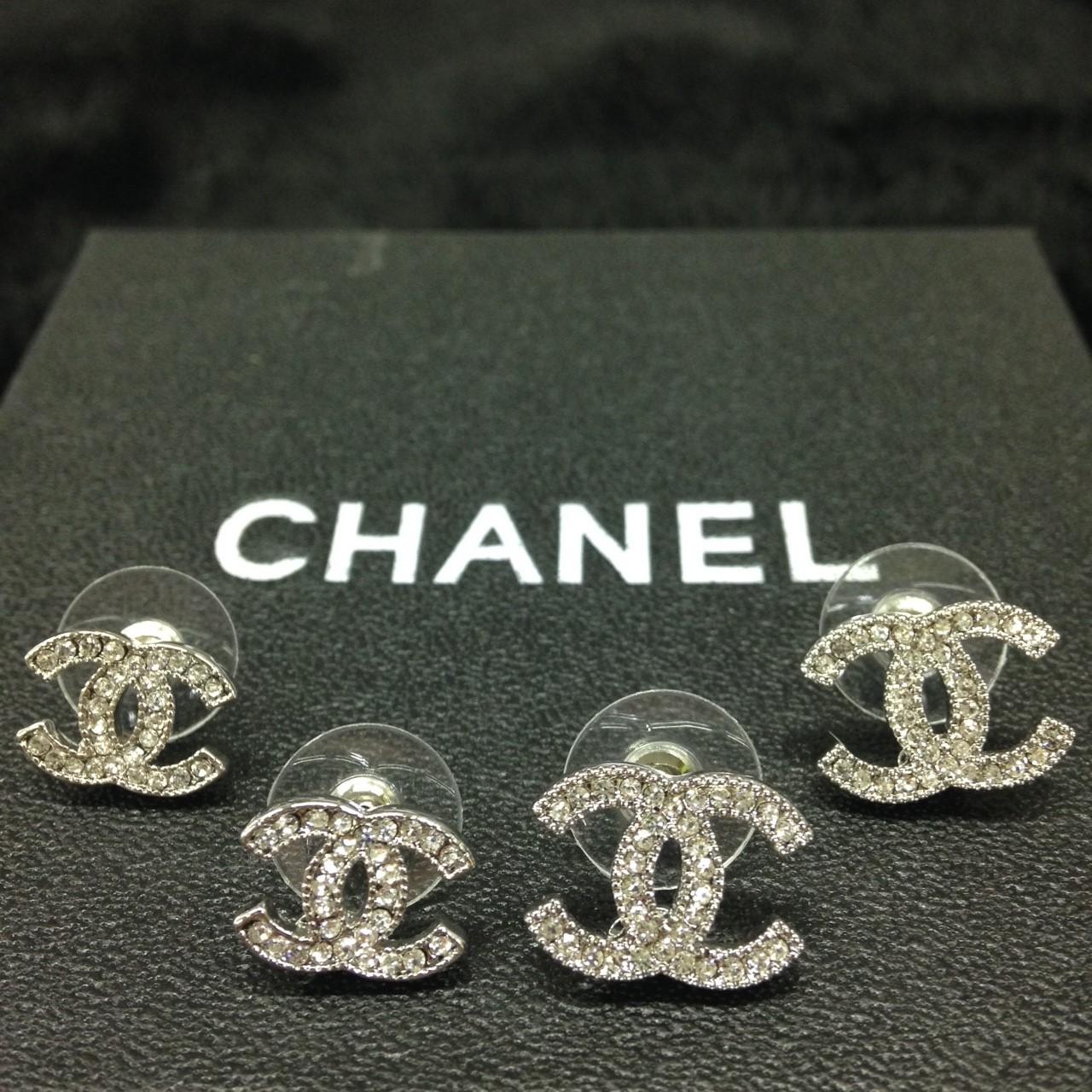 Double C Stud Earring