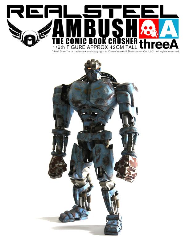 ThreeA Real Steel - Ambush