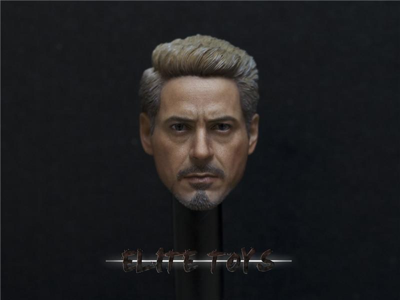 ELITE TOYS - Iron Man Tony Headsculpt