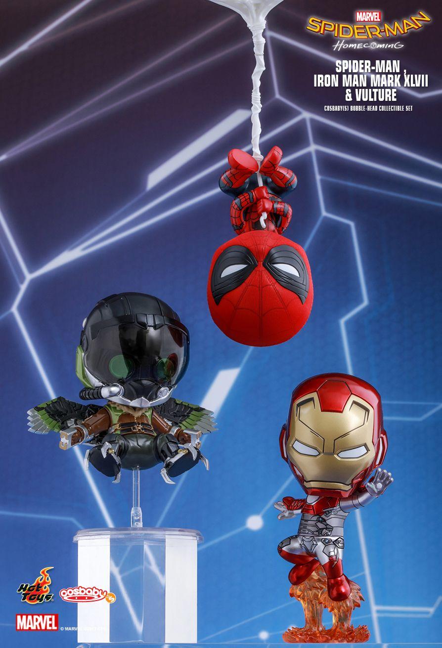 Hot Toys COSB371 SPIDER-MAN: HOMECOMING - SPIDER-MAN, IRON MAN MARK XLVII, VULTURE