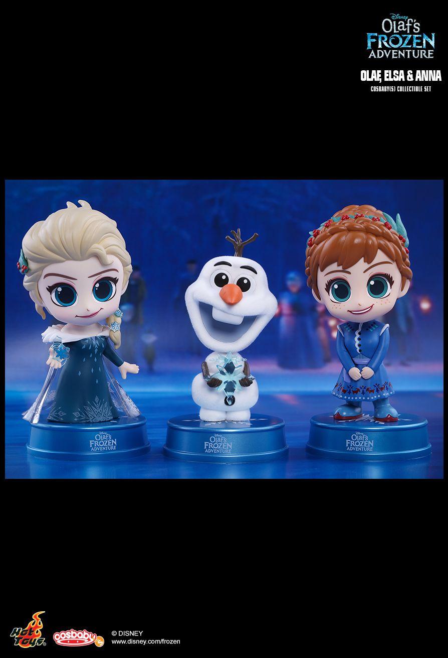 Hot Toys COSB420 OLAF'S FROZEN ADVENTURE - OLAF, ELSA, ANNA