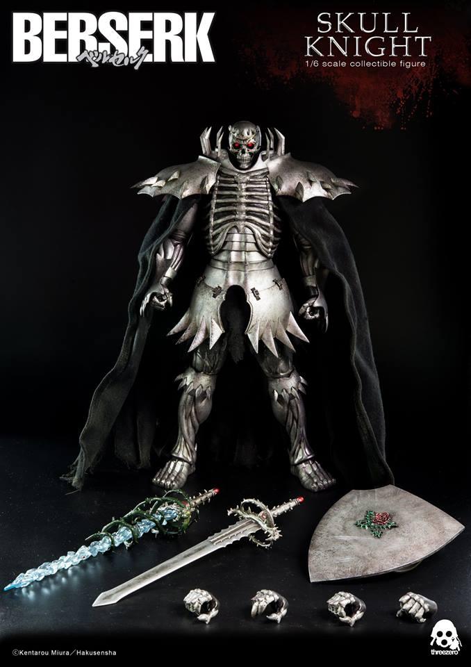 ThreeZero Berserk - Skull Knight (Exclusive version)