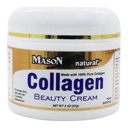 **พร้อมส่ง**Mason Natural Collagen Beauty Cream 57 g. เมสัน คอลลาเจนครีม ครีมบำรุงผิวหน้าสุดฮิตของอเมริกา!!! เนื้อครีมเป็นคอลลาเจนบริสุทธิ์ 100% ใช้แล้วหน้าใส,หน้าเด้ง,ต่อต้านริ้วรอยให้ความชุ่มชื่นบนใบหน้าอย่างดีเยี่ยม! ทำให้ผิวหน้าชุ่มชื่นไม่แห้งกร้าน,ปร