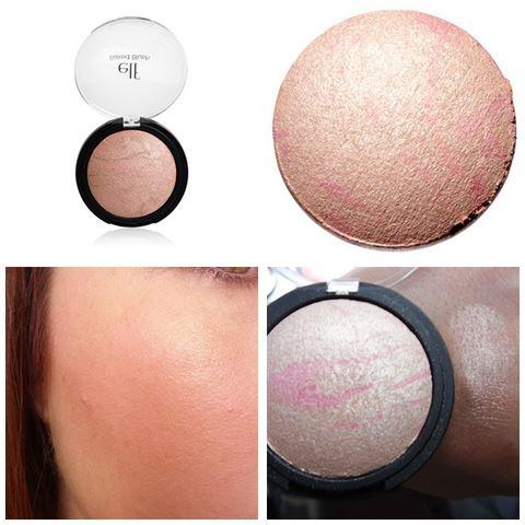 **พร้อมส่ง**e.l.f. Studio Baked Blush สี 83352 Pinktastic บรัชออนแบบ Baked Blush ที่มีพิกเม้นต์อัดแน่นอย่างดี ให้สีสันที่สวยงามแบบลุค Sheer ดูสุขภาพดี มีส่วนผสมที่ช่วยมอบความชุ่มชื่นให้แก่ผิว ใช้ได้ทั้งปัดแก้มโดยใช้แปรงและฟองน้ำ ,