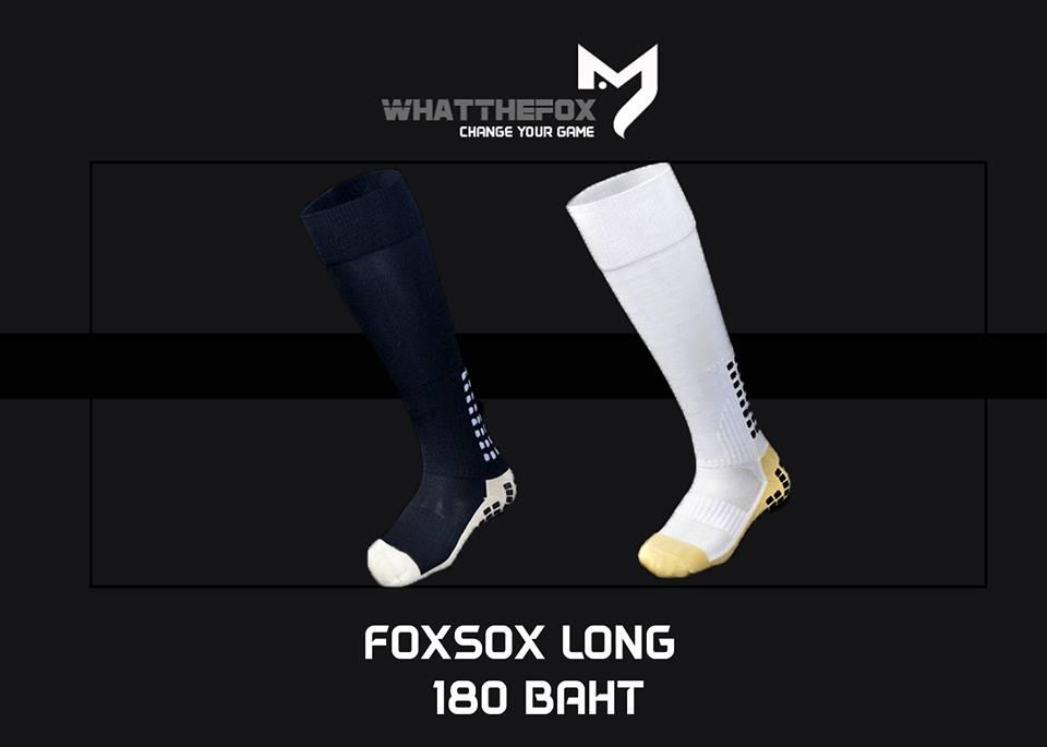 ถุงเท้ากันลื่น FOXSOX 002 (ตัวท๊อป) แบบยาว