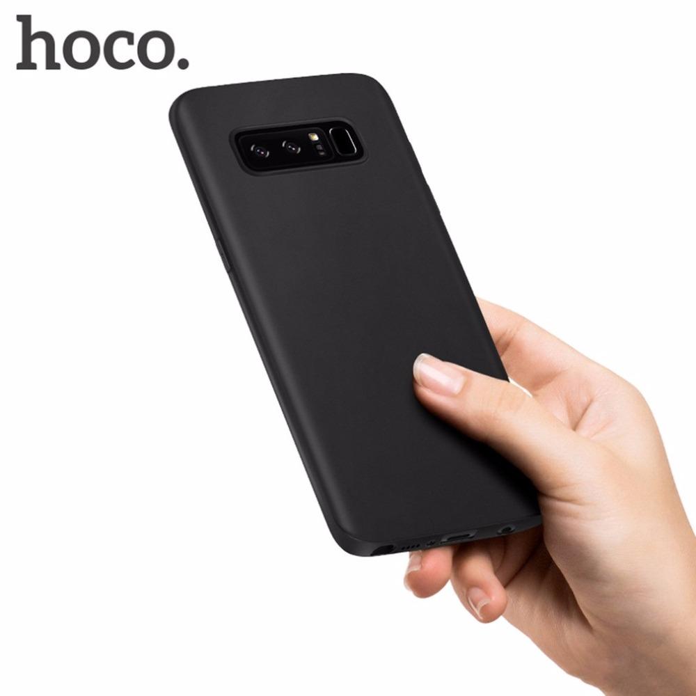เคสสีดำทึบ Galaxy Note 8 ยี่ห้อ HOCO