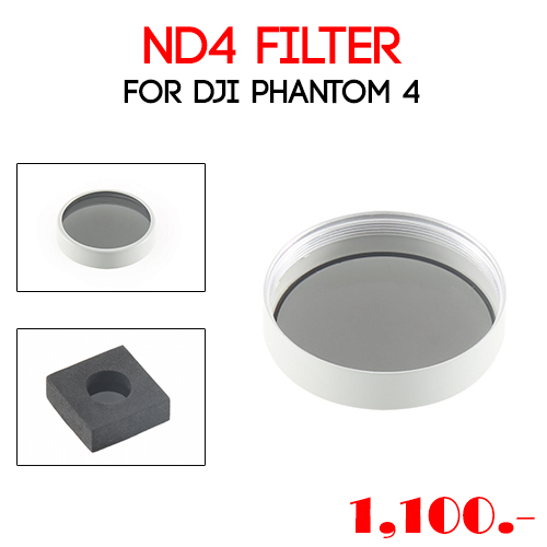 ND4 Filter for Phantom 4