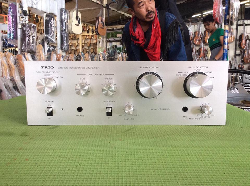 เครื่องขยายเสียง TRIO KA-4500