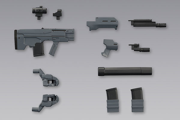 M.S.G Modeling Support Goods - Weapon Unit 37. Assault Rifle Part.2(Pre-order)