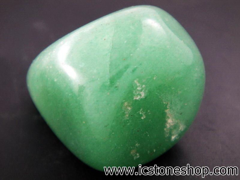 ▽กรีนอะเวนจูรีน (Green Aventurine) ขัดมันขนาดพกพา (11g)