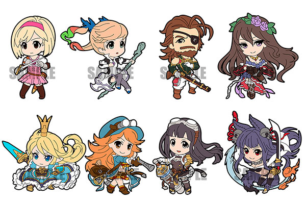 GRANBLUE FANTASY - Rubber Strap Collection vol.2 8Pack BOX(Pre-order)