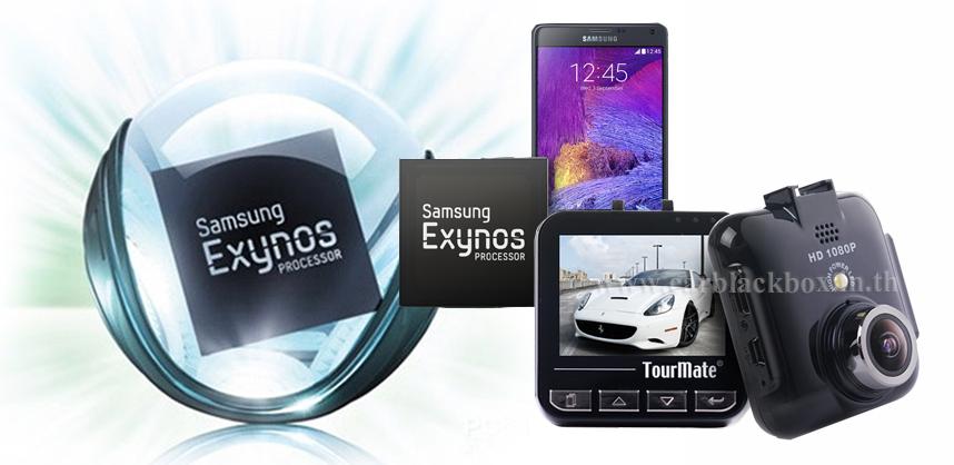 กล้องติดรถยนต์รุ่น G800 ใช้ Chip Samsung Exynos