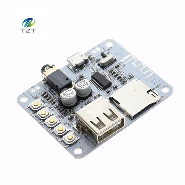 Bluetooth Audio Receiver With SD-Card USB 5V