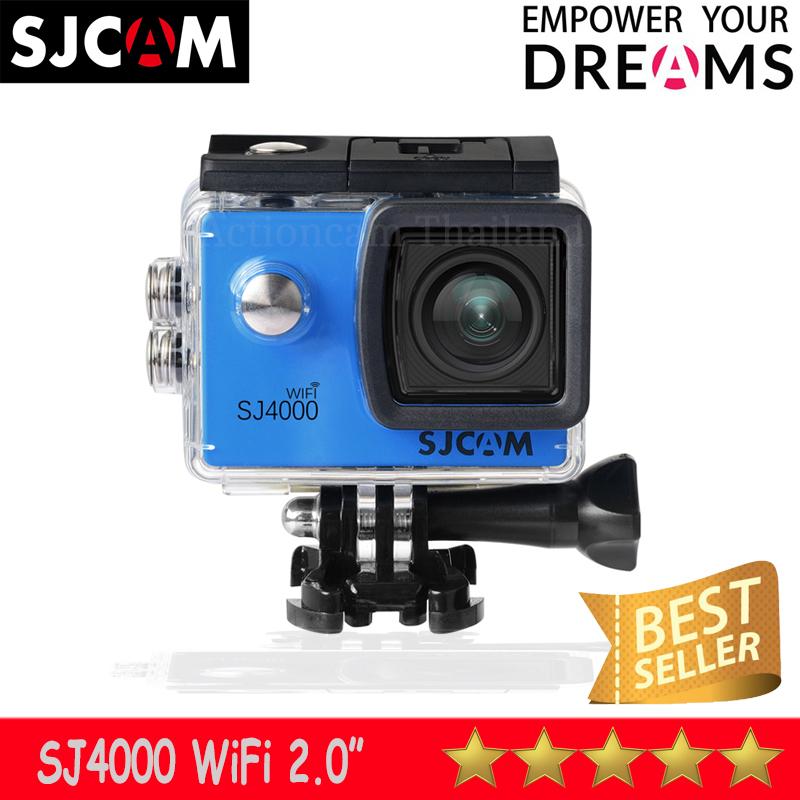 SJCAM SJ4000 WIFI 2.0 นิ้ว (Blue) ประกัน 1 ปี