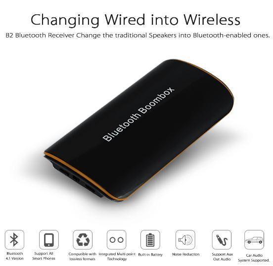Boombox Bluetooth Reciever คือ ตัวรับสัญญาณ บลูทูธ