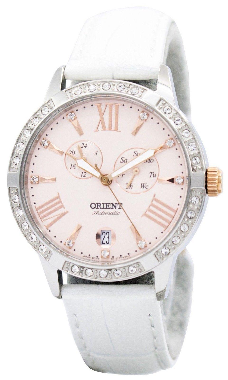 นาฬิกาผู้หญิง Orient รุ่น ET0Y003Z, Fashionable Automatic