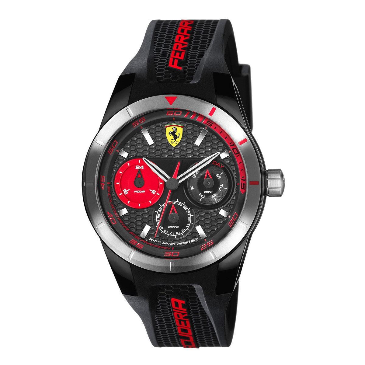 นาฬิกาผู้ชาย Ferrari รุ่น 0830254, RedRev T