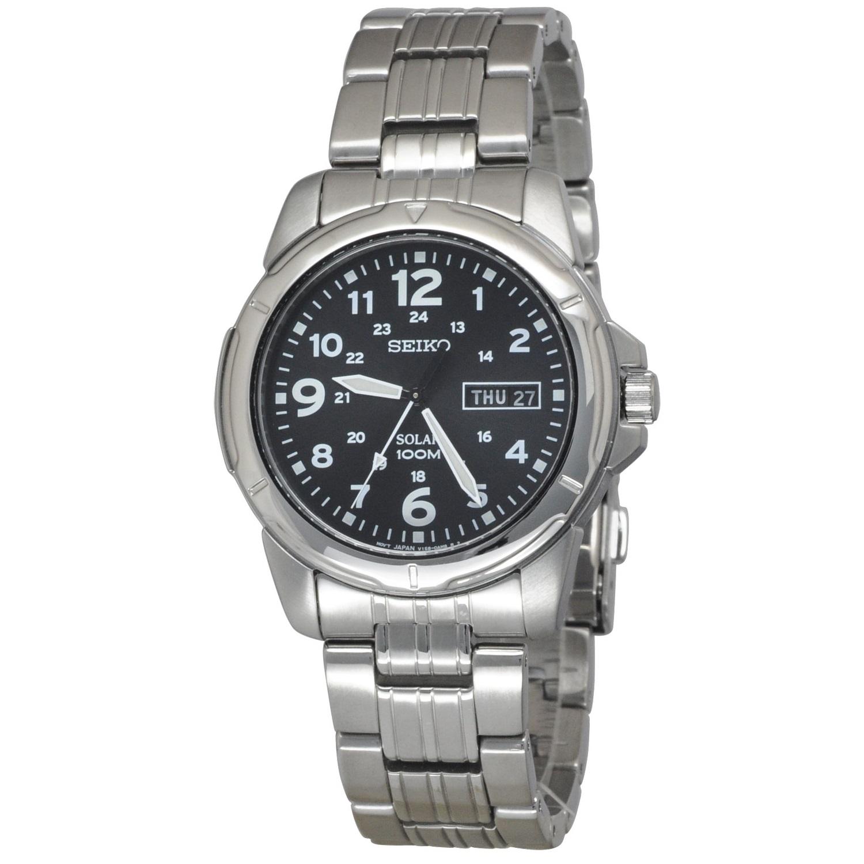 นาฬิกาผู้ชาย Seiko รุ่น SNE095P1, Solar Men's Watch