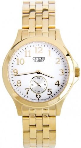 นาฬิกาข้อมือผู้หญิง Citizen Eco-Drive รุ่น EQ9052-51A, Quartz Elegant Gold Tone