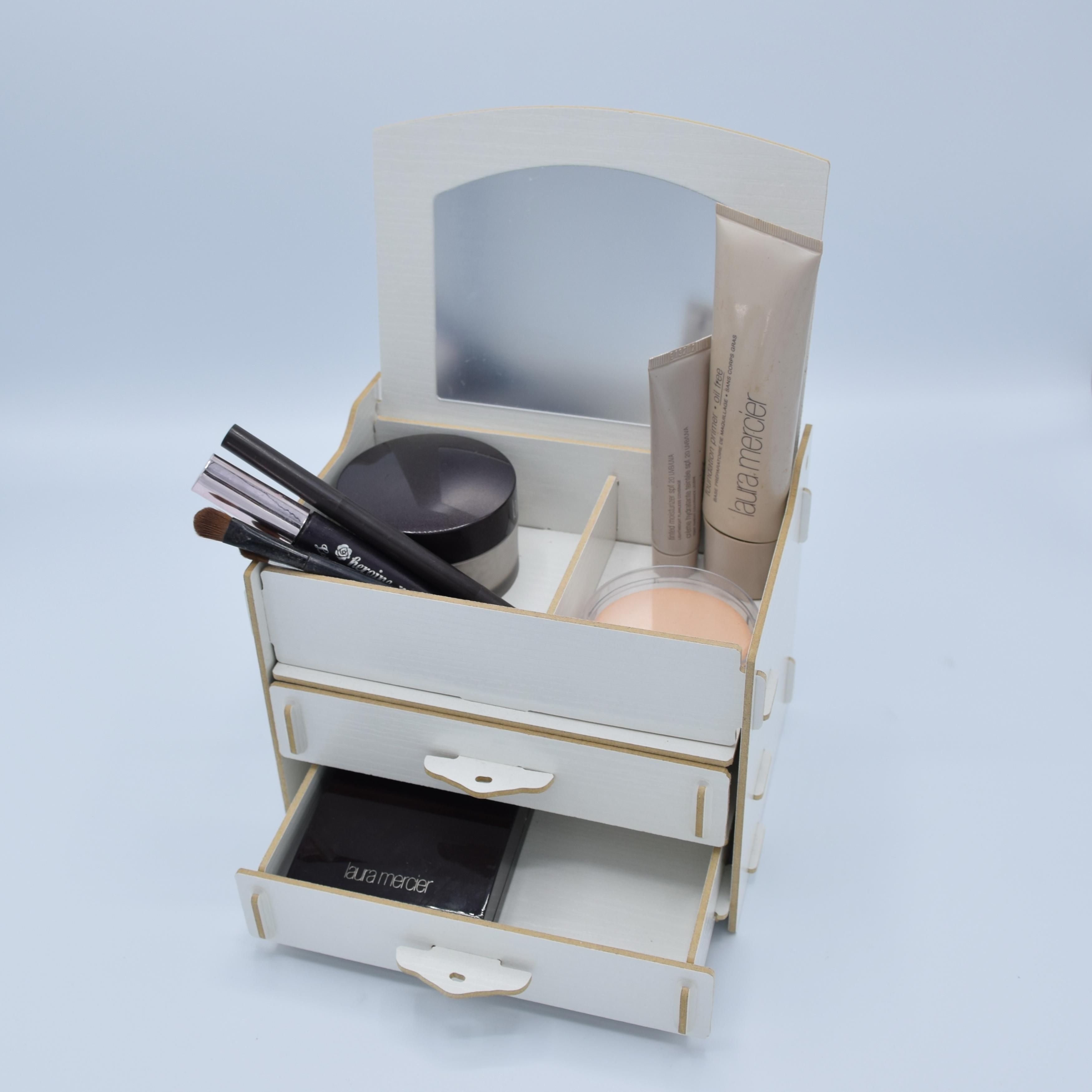 กล่องอเนกประสงค์พร้อมกระจก (9-0040)