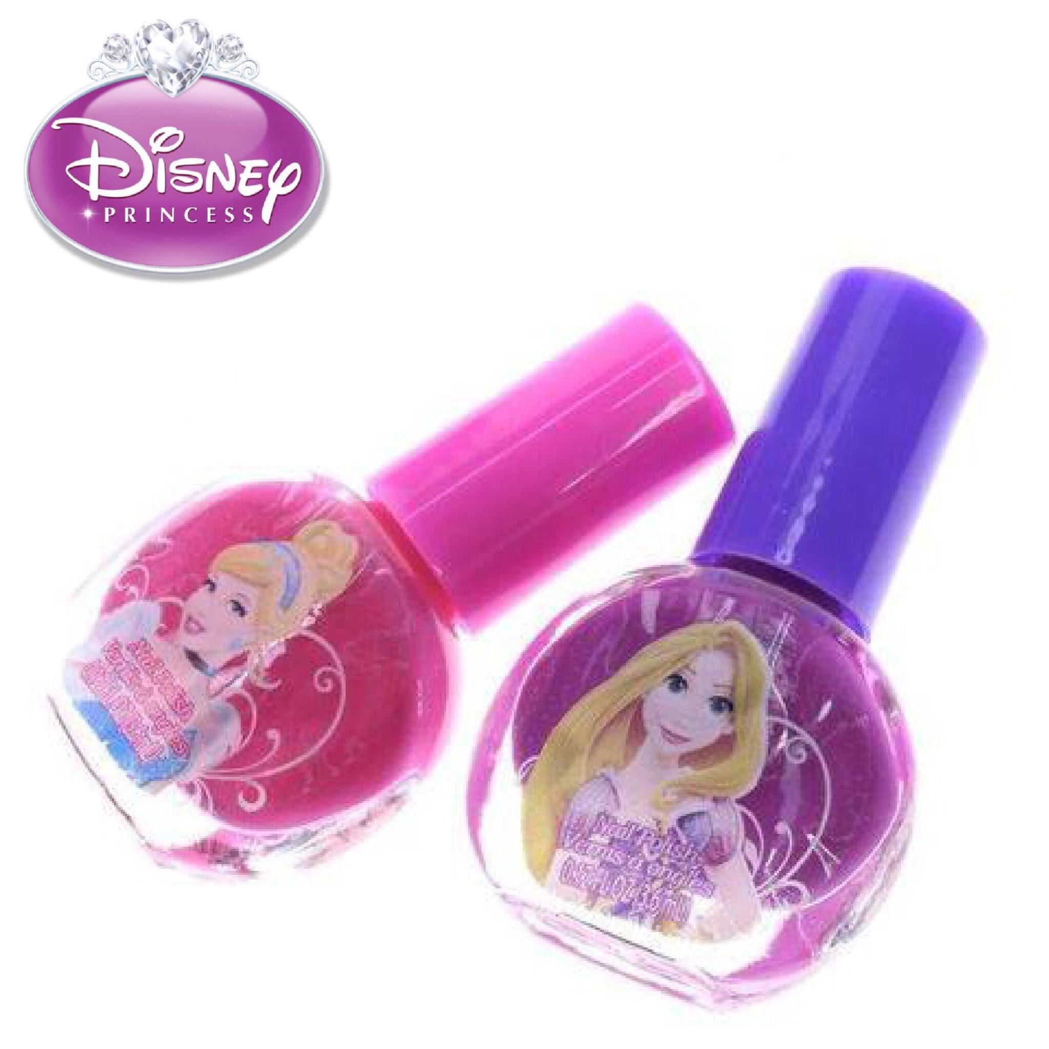 ชุดยาทาเล็บปลอดสารพิษสำหรับเด็ก Townleygirl 2-Pack Nail Polish Set (Disney Princess)