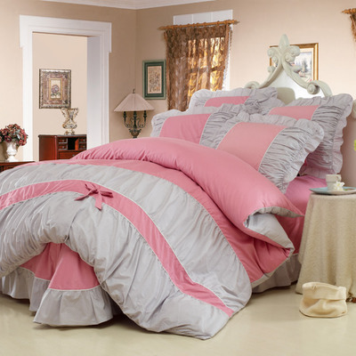 ชุดผ้าปูที่นอนเจ้าหญิง ลูกไม้ SD3019-6P