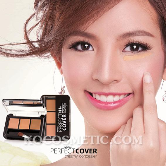 Mistine Perfect Cover Creamy Concealer / คอนซีลเลอร์เนื้อครีม มิสทิน เพอร์เฟค คัฟเวอร์ ครีมมี่