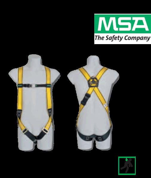 เข็มขัดนิรภัย MSA Workman Light Certified to EN361