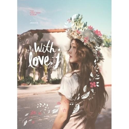 """[PRE-ORDER] Jessica - 1st Mini Album """"WITH LOVE, J"""""""
