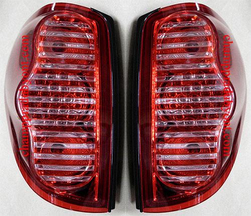 ไฟท้าย MITSUBISHI TRITON 06-14 ขาวแดง LED