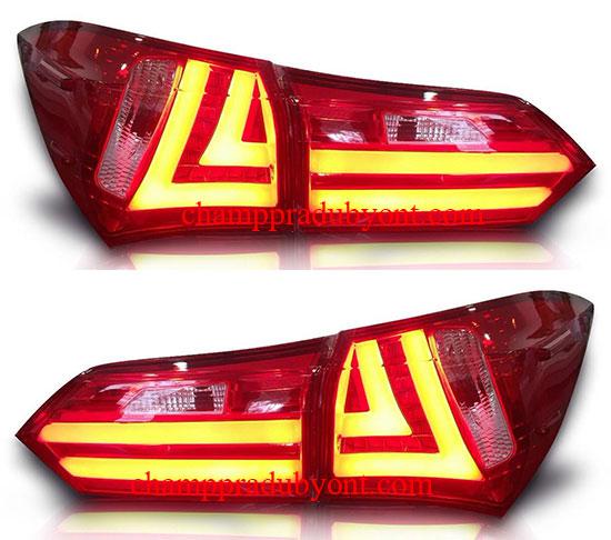 ไฟท้าย TOYOTA ALTIS 14-16 แดง LED