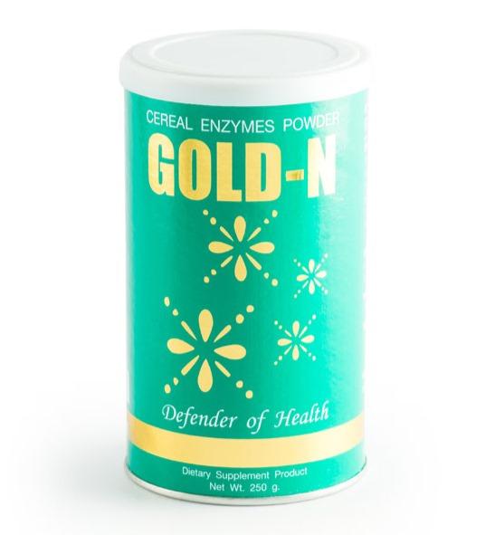 โกลด์ เอ็นซ์ (Gold N) อุดมด้วยกรดอะมิโนจากธัญพืช ฟื้นฟูระบบต่าง ๆ ในร่างกาย สร้างภูมิต้านทาน เสริมสร้างระบบประสาทและความจำ