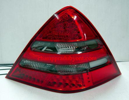 ไฟท้าย BENZ SLK R170 1996-2002 SMOKE แดงเพชร LED