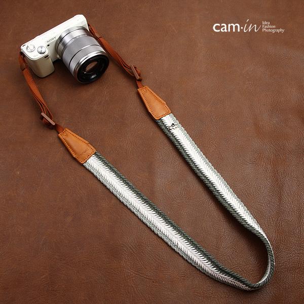 สายคล้องกล้องสวยๆ cam-in Shade of Gray