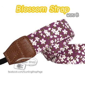 สายคล้องกล้อง Blossom Strap แบบ B