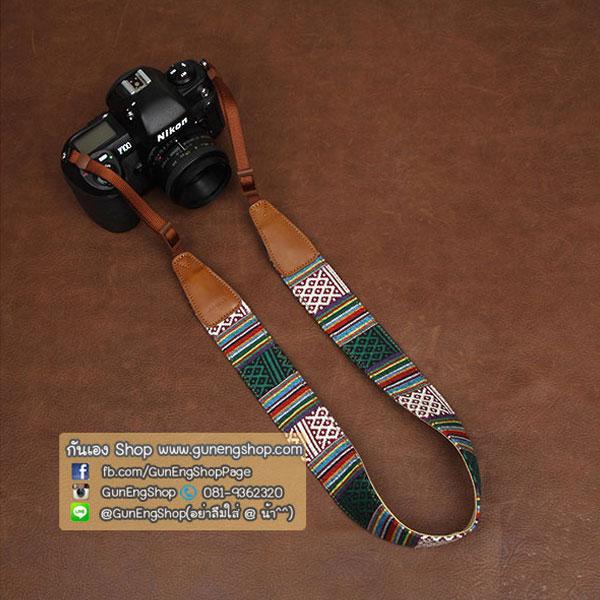 สายคล้องกล้องอินดี้ cam-in Bohemian